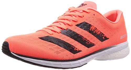 Adidas Adizero Adios 5 m, Zapatillas para Correr para Hombre, Signal Coral/Core Black/FTWR White, 47.33 EU
