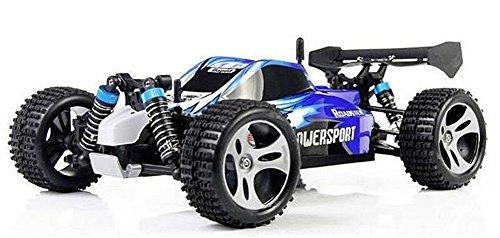 Yacool ® Wltoys A959 Rc Auto 1/18 2.4Gh 4WD Off-Road Buggy - blau
