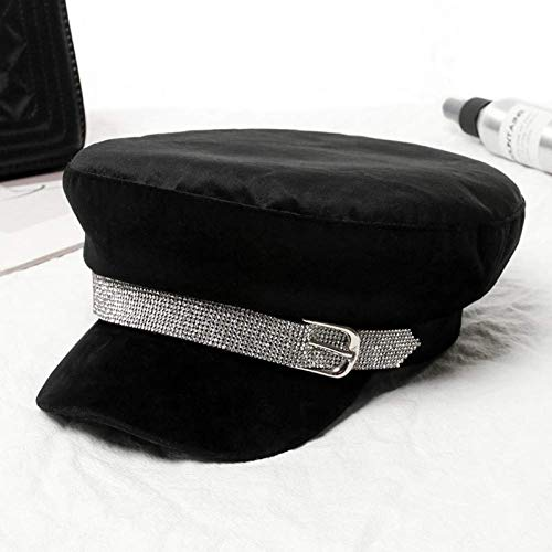 Sombrero De Moda Sombreros De Béisbol Boina Boina Cálida De Invierno Vintage Colores Sólidos Sombreros De Pico De Vendedor De Periódicos Gorras De Marinero