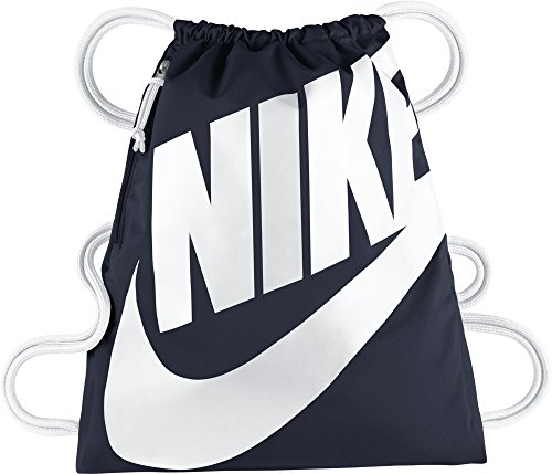 Nike Unisex-Erwachsene NK Heritage GMSK Turnbeutel, blau (Blau/Weiß)