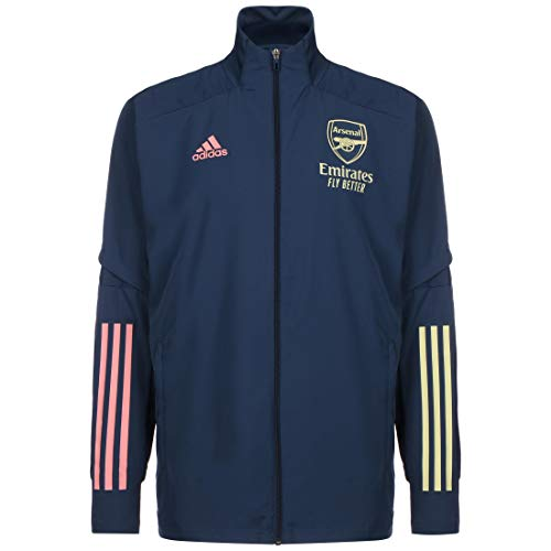 adidas 2020-2021 Arsenal Presentation Jacket (Indigo)