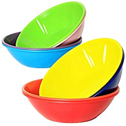 powerful Young 28 oz plastic bowl, large cereal bowl, muesli, for soups or salads, microwaveable, …
