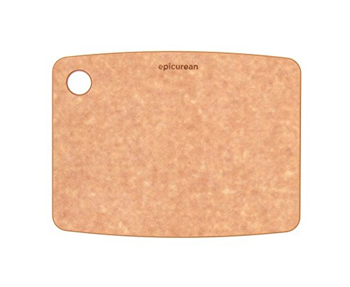 Epicurean Kitchen Series Cutting Board, 8-Inch × 6-Inch, Natural