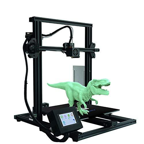 ZHQEUR Pluma de impresión 3D XY-3 con la Impresora 3D de nivelación automática Semi-ensamblados con el Curriculum Vitae del filamento Sensor y de alimentación Impresora 3D