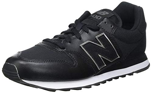New Balance Herren 500 Mixed Material Pack Sneaker, Schwarz Black, 42 EU