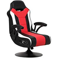 X Rocker Falcon Pedestal Gaming Chair (Black/Red)