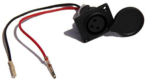 Verbindungskabel Batterie / Ladebuchse Ersatzteil für SXT Elektro Scooter