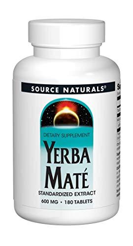Source Naturals Yerba Mate 600mg - 180 Tablets