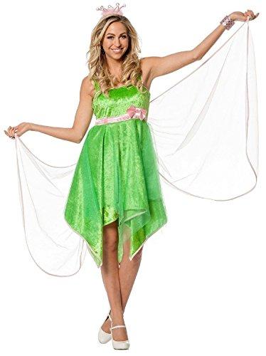 L3200970-38 grün Damen Fee Elfen-Kleid Feen-Kostüm Gr.38