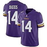 Uniformes de Rugby Diggs, Uniformes de Combat des Vikings 14, Uniformes de Rugby pour Hommes et femmes-purple-Women-2XL