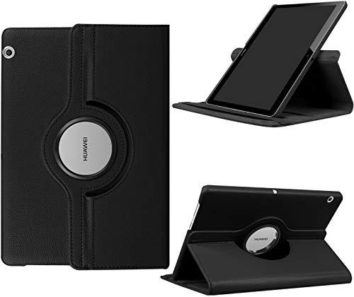 Hious Custodia per Huawei MediaPad T3 10 Protettiva Ultra Sottile Custodia in Pelle, con Funzione di Stand Flip Copertina Smart Case Cover Tasca, Supporta Funzione Auto Sveglia/Sonno