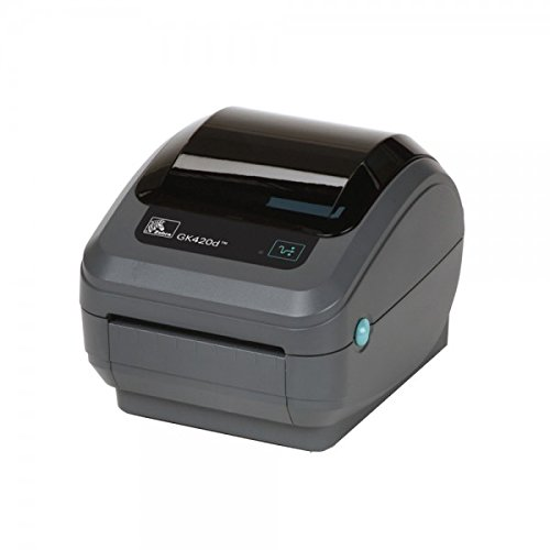 Zebra gK420d–Imprimante d'étiquettes Thermique Directe, 203x 203dpi 127mm/SEG, avec Fil, Ethernet, 8MB no