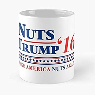Deez Nuts For President 2016 Election Funny Floral Coffee Mugs Gifts