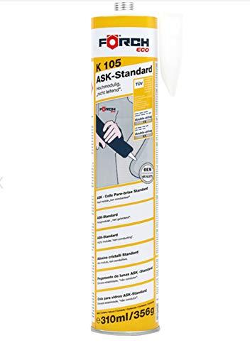 Förch K105 ECO Scheibenkleber 310ml Kartusche Hochmodulig Autoscheibenkleber