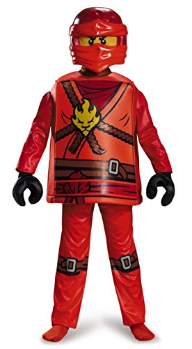 Disguise Kai Deluxe Ninjago Lego Costume, Medium/7-8 - http://coolthings.us