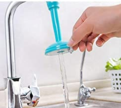 Shree krishna Flexible Faucet Nozzle Water Filter Adapter Water Purifier Saving Tap Aerator Diffuser Kitchen Connector Accessories Water Saving Faucet