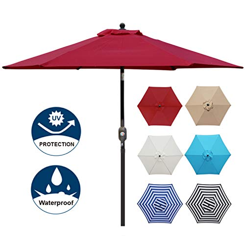 Blissun 7.5 ft Patio Umbrella, Y...