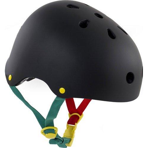 SFR Essentials Skate-/Scooter-/BMX-Helm, Rasta-Aufkleber, XXS/XS