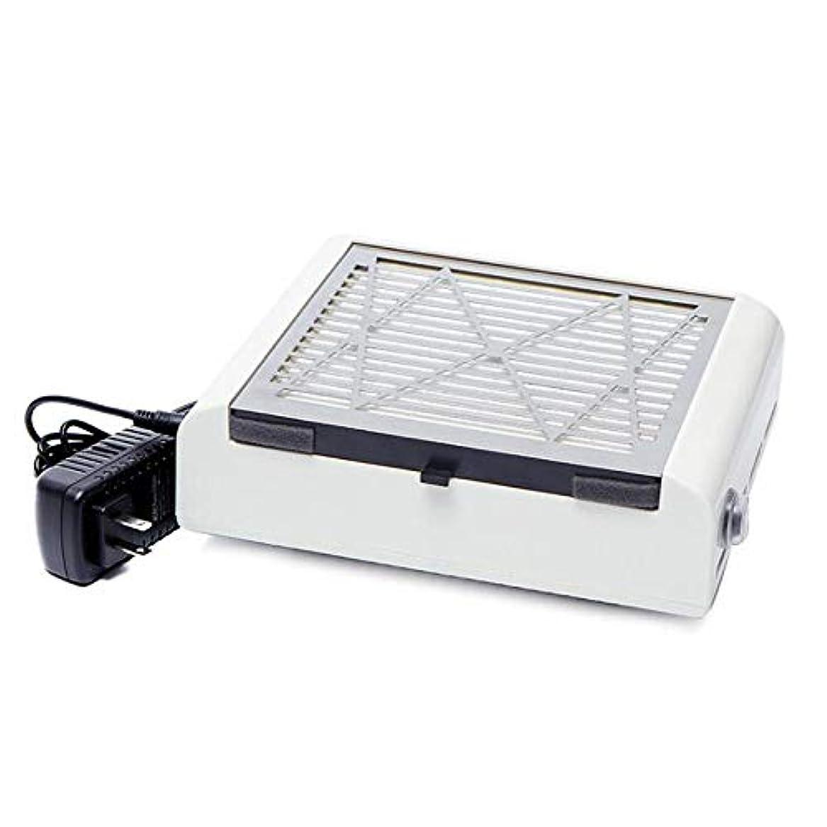 からかう負荷移動集塵機 ネイルダスト ネイル ネイル機器 ダストクリーナー 強力 ハイパワー 音静か プロ用 コレクター フィルター式 吸塵 ネイル用品 電動 (ホワイト)