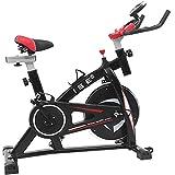 ISE Vélo D'appartement Vélo de Spinning Ergomètre Cardio Vélo Biking Fitness d'intérieur Exercice à la Maison,...