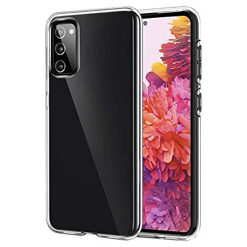 ANEWSIR Cover per Samsung Galaxy S20 Fe/Fe 5G Cover Silicone Case Molle Trasparente Sottile Custodia per Samsung S20 Fe/Fe 5G Cover