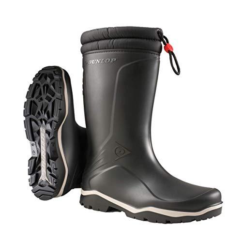 Dunlop K486061 Blizzard - Stivali di gomma da lavoro, Unisex-Adulti, Nero, 42 EU
