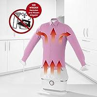 CLEANmaxx planchadora automática de Camisas se Seca y Plancha automáticamente | Máquina de Planchar Camisas y Blusas Totalmente automática