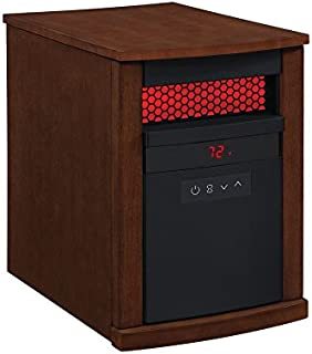 duraflame 1500 watt small portable heater with flame effect