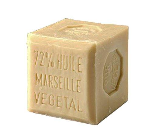 Véritable savon de Marseille végétal et naturel - Bloc de 300 g