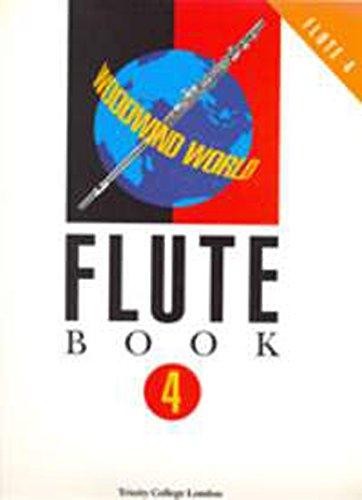 Woodwind World: Flute Bk 4 (flute & pno) - Flöte und Klavier - Buch