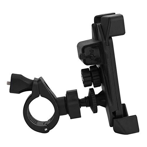Suuonee Telefoonhouder, universele motorfiets, fiets, ATV, stuurhouder, standaard, houder voor mobiele telefoon, GPS met USB-oplader