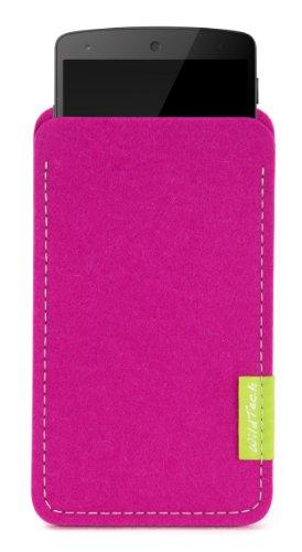 WildTech Sleeve für LG Google Nexus 4 - 14 Farben wählbar (Pink)