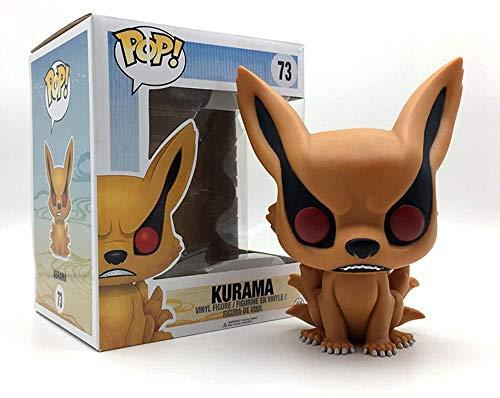 A-Generic Pop Naruto Kurama Figuren Spielzeug Anime Modell Charaktere Statuen Puppen 10cm Vinyl Action Sammlerstücke Kunstwerk Geschenke Ornamente-EIN