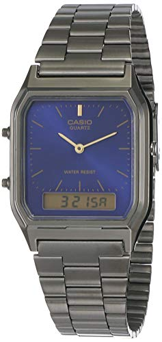 Casio Vintage Series Analog-Digital Blue Dial Unisex Watch - AQ-230GG-2ADF(D183)