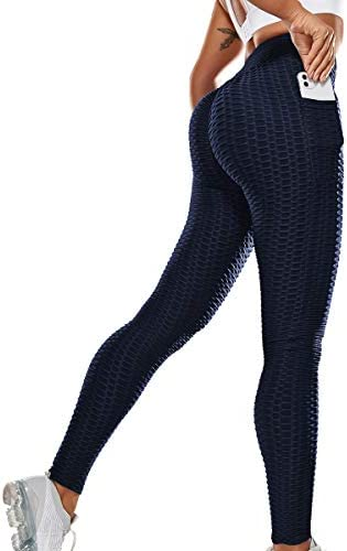 Vaslanda Booty Butt Lifting Leggings for Women Scrunch Comfortable Textured Colombian Yoga Workout product image