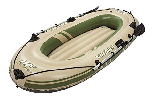 Bestway Hydro-Force Voyager 300 Set, Schlauchboot für zwei Personen,  243x102x31 cm