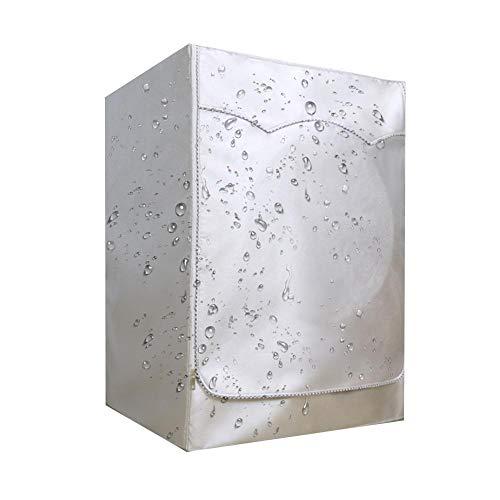 Kioski Zilver gecoate Oxford stoffen trommel Automatische wasmachinedekking Waterdichte zonnebrandcrème Stofkap Wasmachine Waterdichte zonnebrandcrème Stofkap