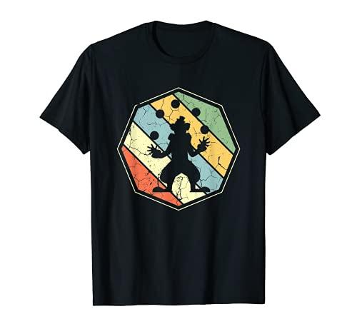 Disfraz de payaso malabares circo malabarismo amante regalo de cumpleaos Camiseta
