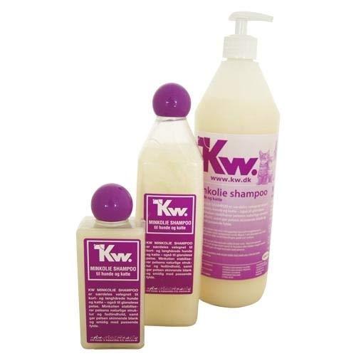kw Champú de Aceite de Visón 1000ml 1 litro peluquería Canina