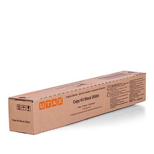 Original Utax 662510010 /, für 2550 Ci Premium Drucker-Kartusche, Schwarz, 12000 Seiten