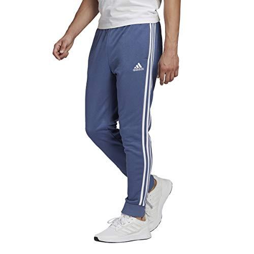 adidas GK8890 M 3S FT TC PT Pantaloni Sportivi Uomo Crew Blue/White L