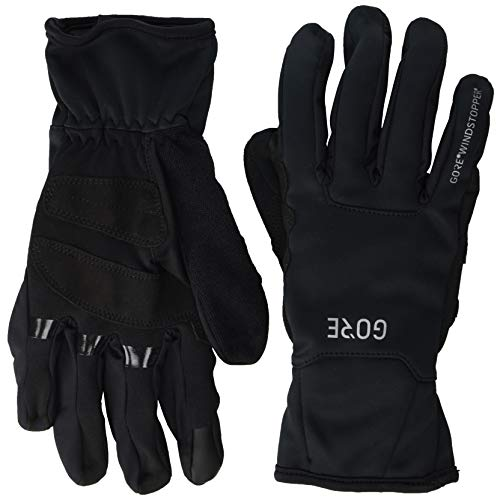 GORE WEAR M Windstopper Thermo Thermohandschuhe, Black, 8