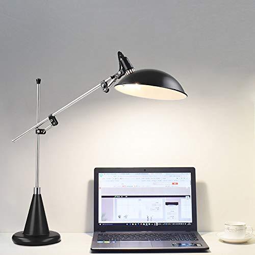 WSJTT Desk lamp Lámpara moderna minimalista protección escritorio escritorio lámpara de estudio cálido estudio dormitorio noche de cama creativa personalidad sala de estar diseño ajustable diseño de e