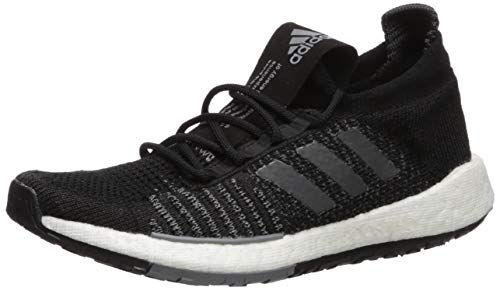 adidas Originals Women's PulseBOOST HD Running Shoe, Black/Grey/Grey, 8 M US
