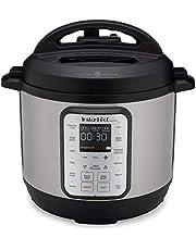 Instant Pot 60 DUO Plus 5,7 L 9-i-1 flerfunktionellt tryck, långsamt, ris, yoghurtmakare, äggkok, sauté, ångkokare och sterilisering, 220 V