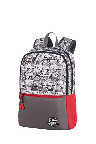 American Tourister Urban Groove Disney - Backpack Medium - Rucksack, 40 cm, 16.0 Liter, Mickey Comics Red