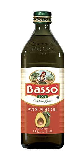 Basso Olio di Avocado alimentare 1 litro per condimenti in cucina ideale per pietanze vegetali
