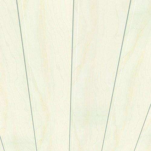 Swing Line Wandpaneel und Deckenpaneel Birke weiss 2600 x 168 x 10 mm
