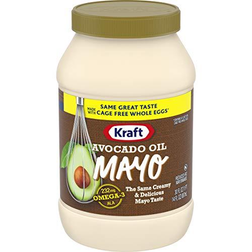 Kraft Mayo Avocado Oil Reduced Fat Mayonnaise (30 oz Jar)