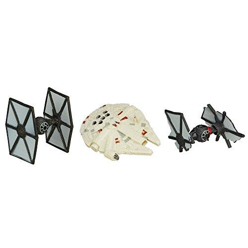 Star Wars Rebels Micro Machines Lot de 3 La Chasse de l'inquisitor (la Couleur Peut Varier)